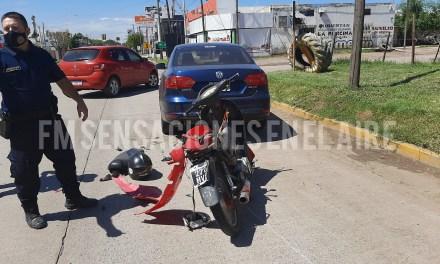 Accidente de tránsito Av San San Martín