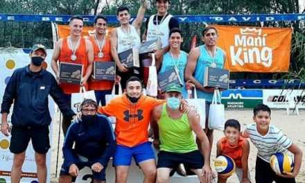 Lautaro Piotti y Facundo Saltiva ganadores de la Copa Región del Maní