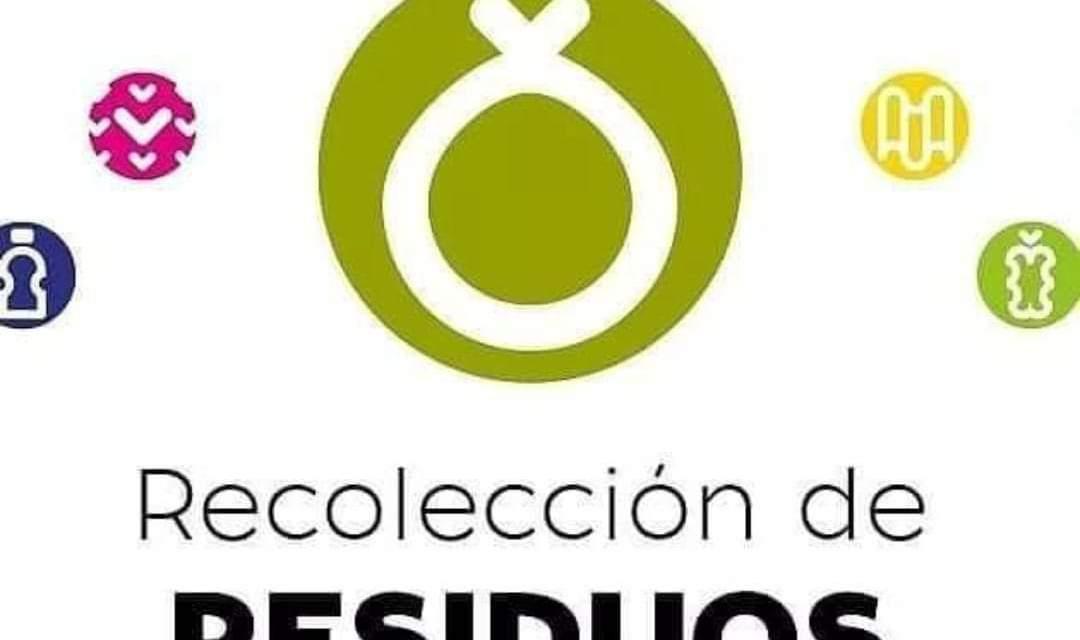 Feriado – solo recolección de residuos domiciliarios