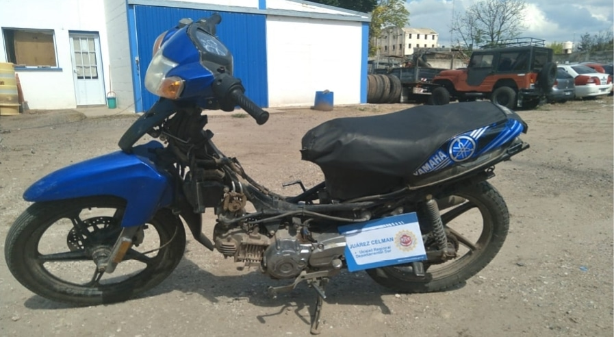 Recupero de motocicleta sustraída