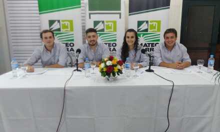 Tras la Asamblea General, Yamila Buffa fue reelegida como presidenta de la Juventud Mateo Barra