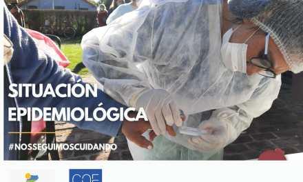 Cabrera: Situación epidemiológica 16 de Abril