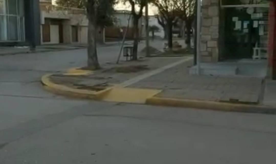 GRAVE ACCIDENTE EN CALLE 20 DE SEPTIEMBRE Y RIOJA