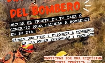 «Día del Bombero» – Toque de sirena a las 8 de la mañana y acto virtual