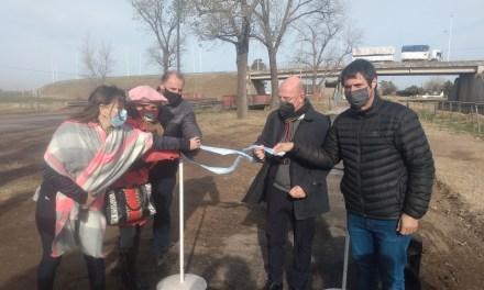 Inauguración de la repavimentación de la ciclovía y Paseo de las aves