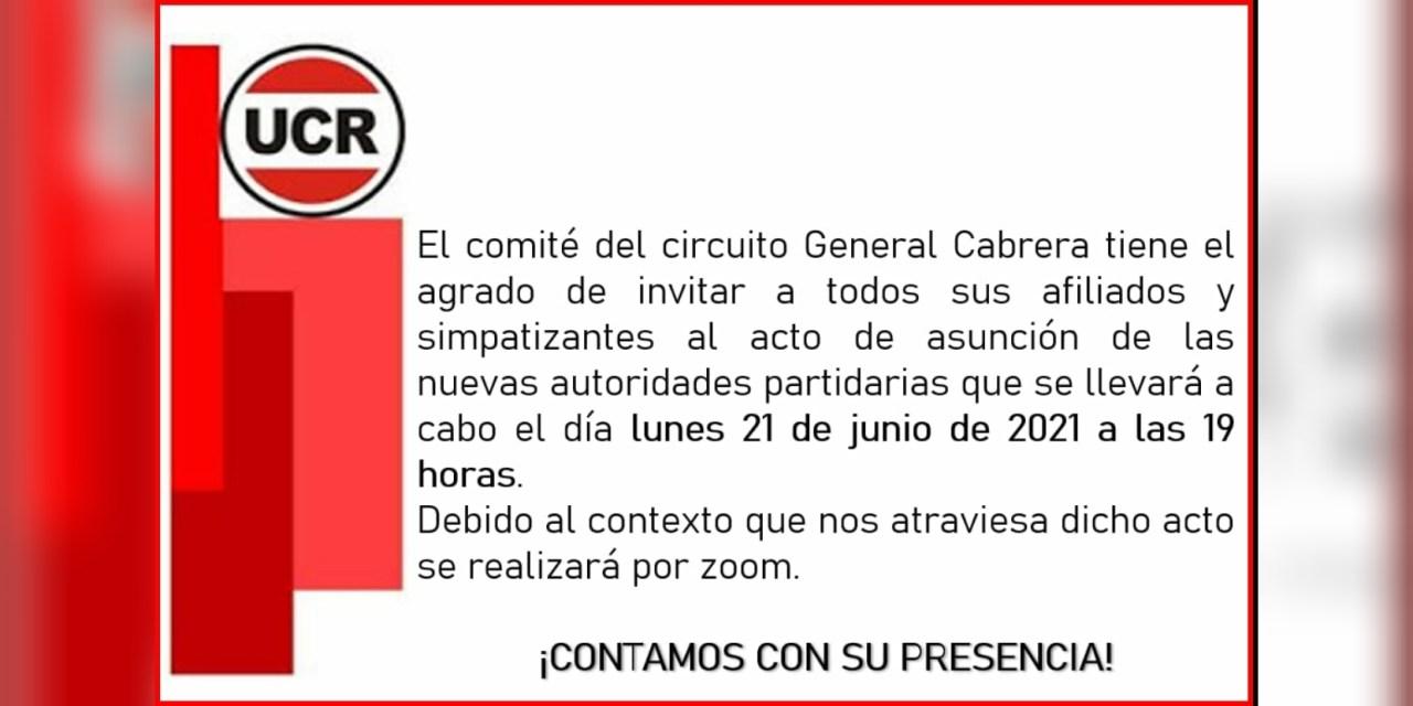 UCR: Asunción de nuevas autoridades