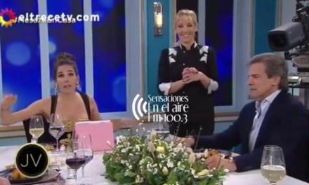 Cabrera reconocido en la noche de Mirta con Juanita Viale