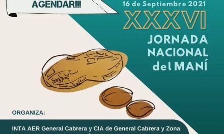 Ya hay fecha confirmada – La XXXVI Jornada Nacional del Maní será el jueves 16 de Septiembre