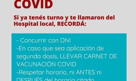 Información importante sobre la vacunación Covid