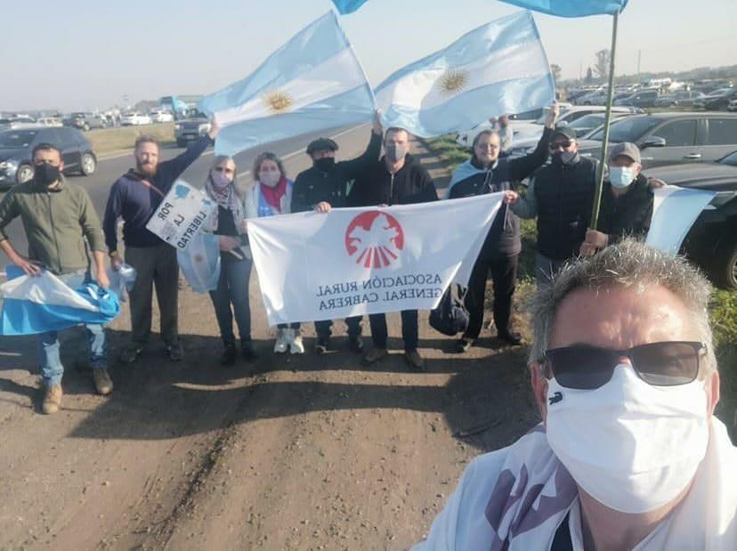 Asociación Rural Gral. Cabrera, presente en la marcha de San Nicolás