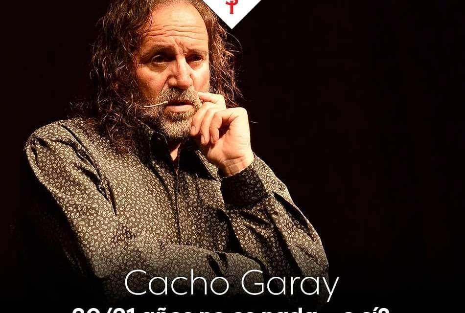 Cultura – Cacho Garay se presenta el 10 de Septiembre en el TMSI