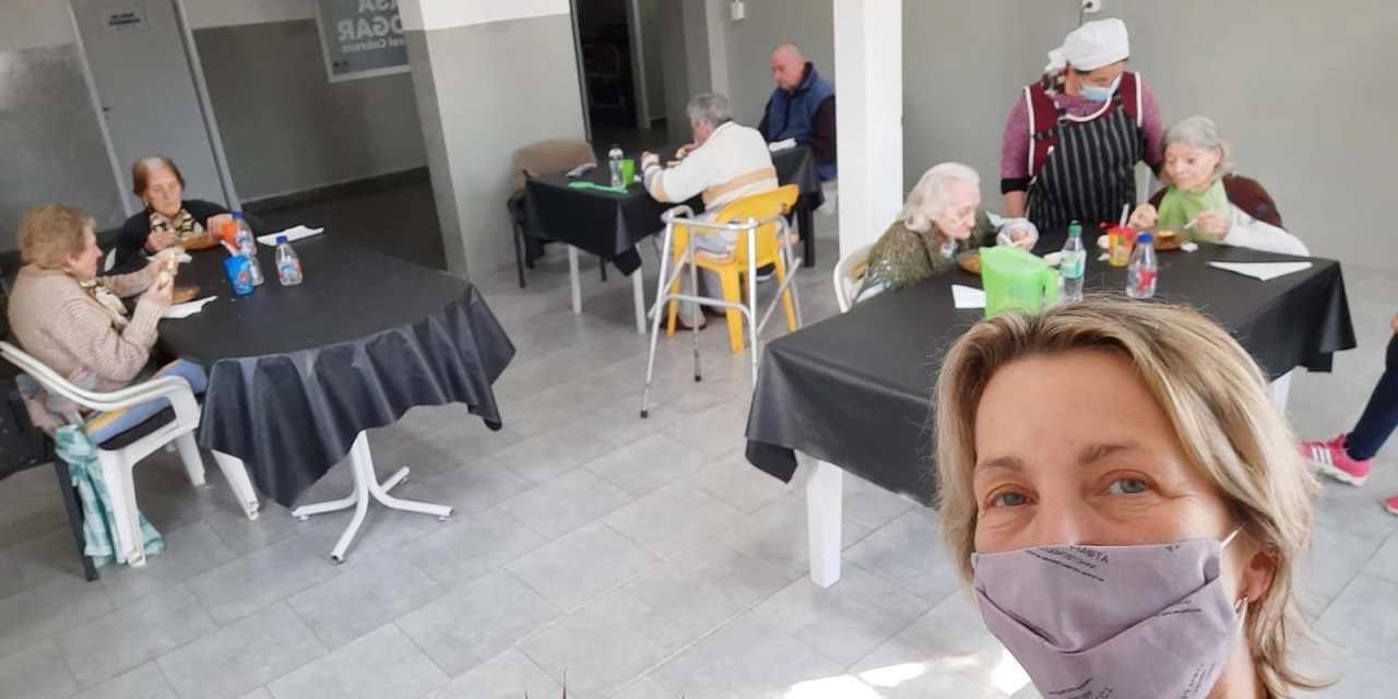 Los abuelos ya están instalados en la Nueva Casa Hogar