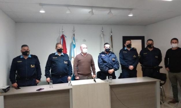 Mario Bossio es el nuevo Comisario de la ciudad. Además se presentó un nuevo móvil