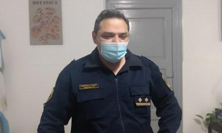El Comisario Luquez brindó el informe policial