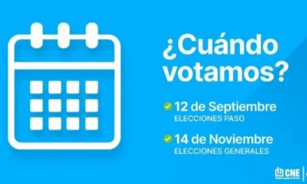 Paso 2021 – Que se vota, listas y protocolo