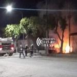 Perdidas totales en el incendio de un vehículo