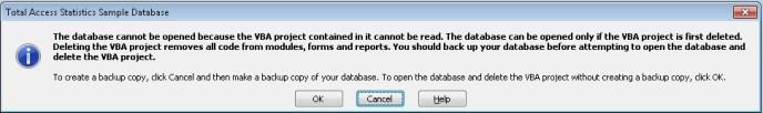 Microsoft Access 2010 Service Pack 1 VBA Project
