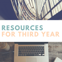 Third Year Recommended Resources