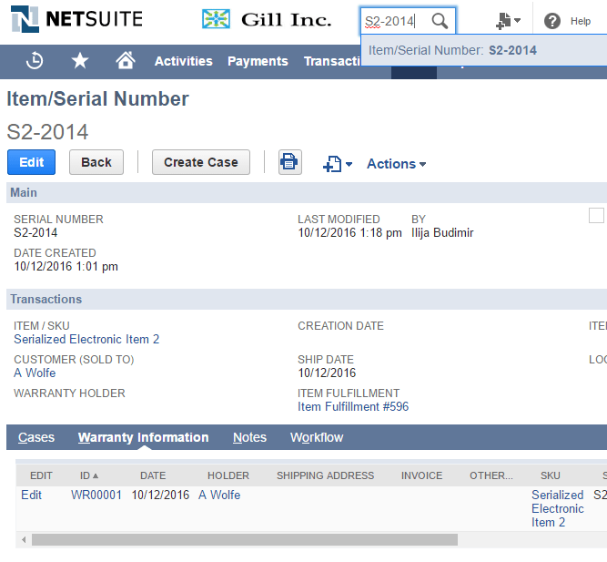 fmt s custom netsuite solutions serialized number tracking
