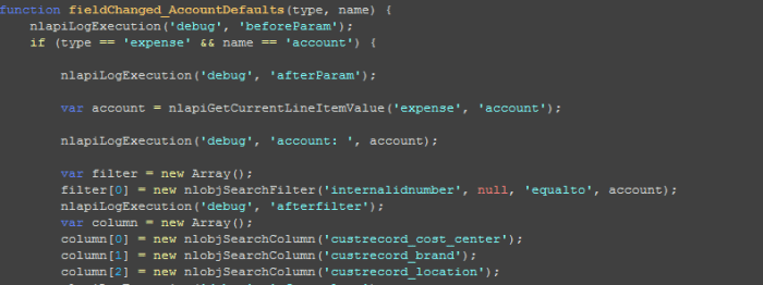 netsuite-customization-sample-script