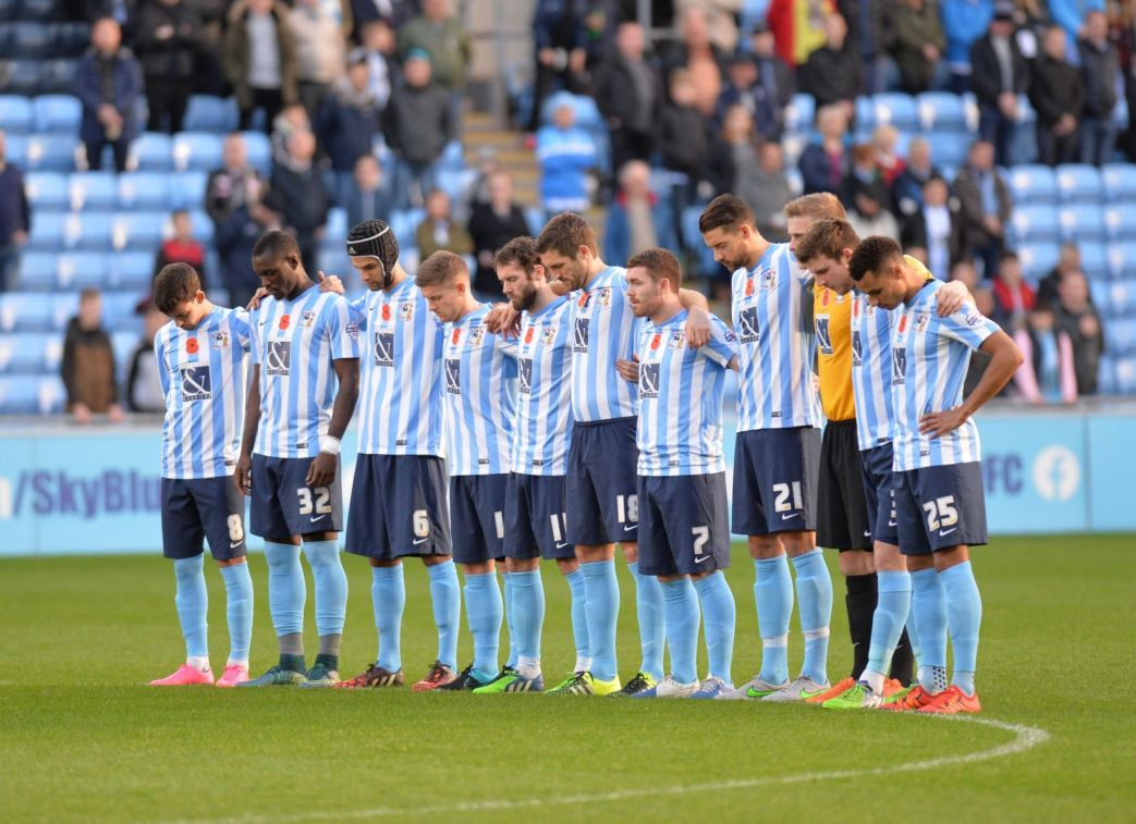 Coventry squad line-up