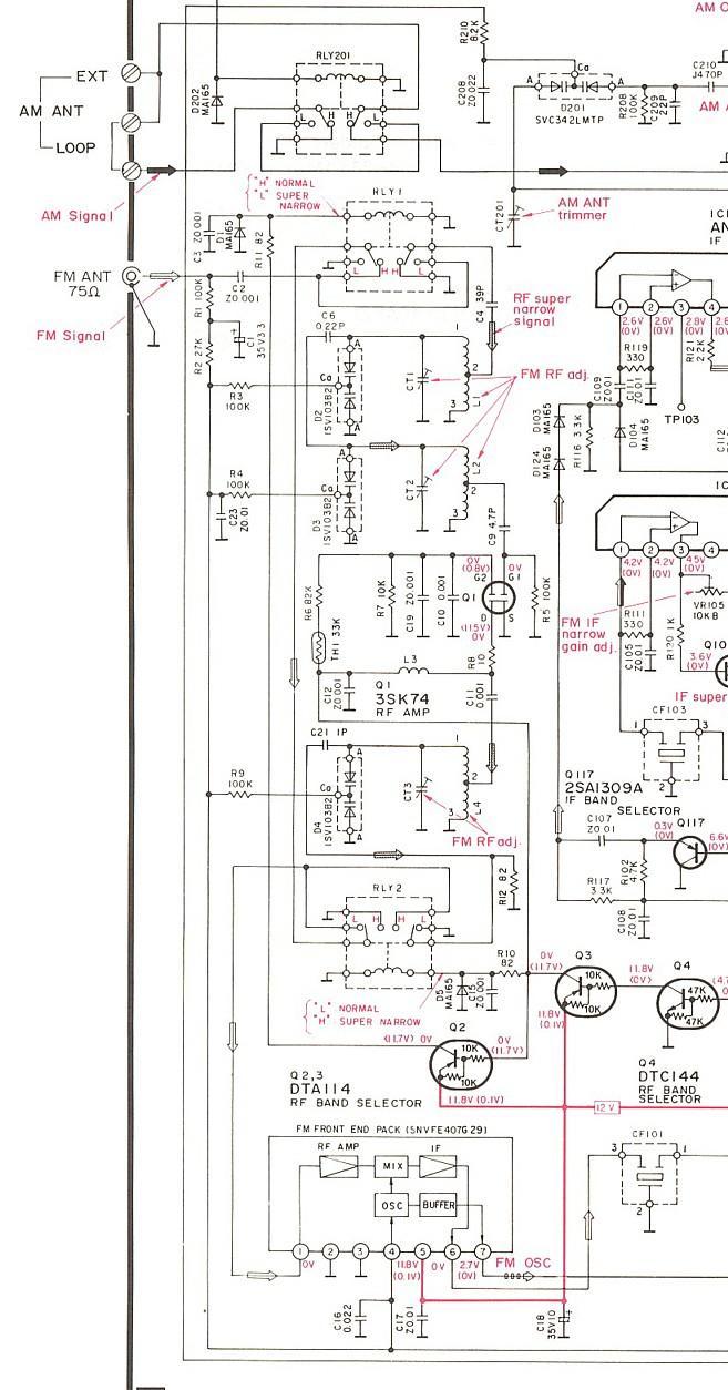 medium resolution of technics st g90 photo front end schematic