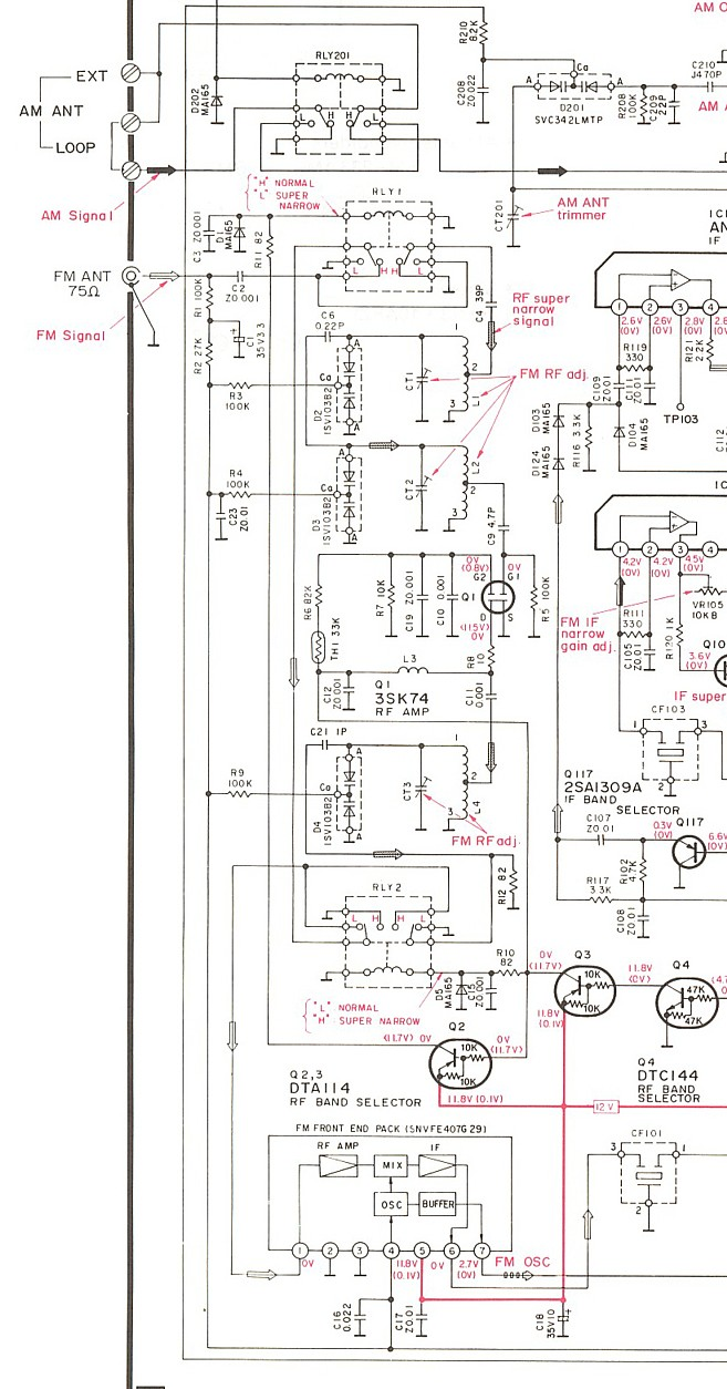 hight resolution of technics st g90 photo front end schematic