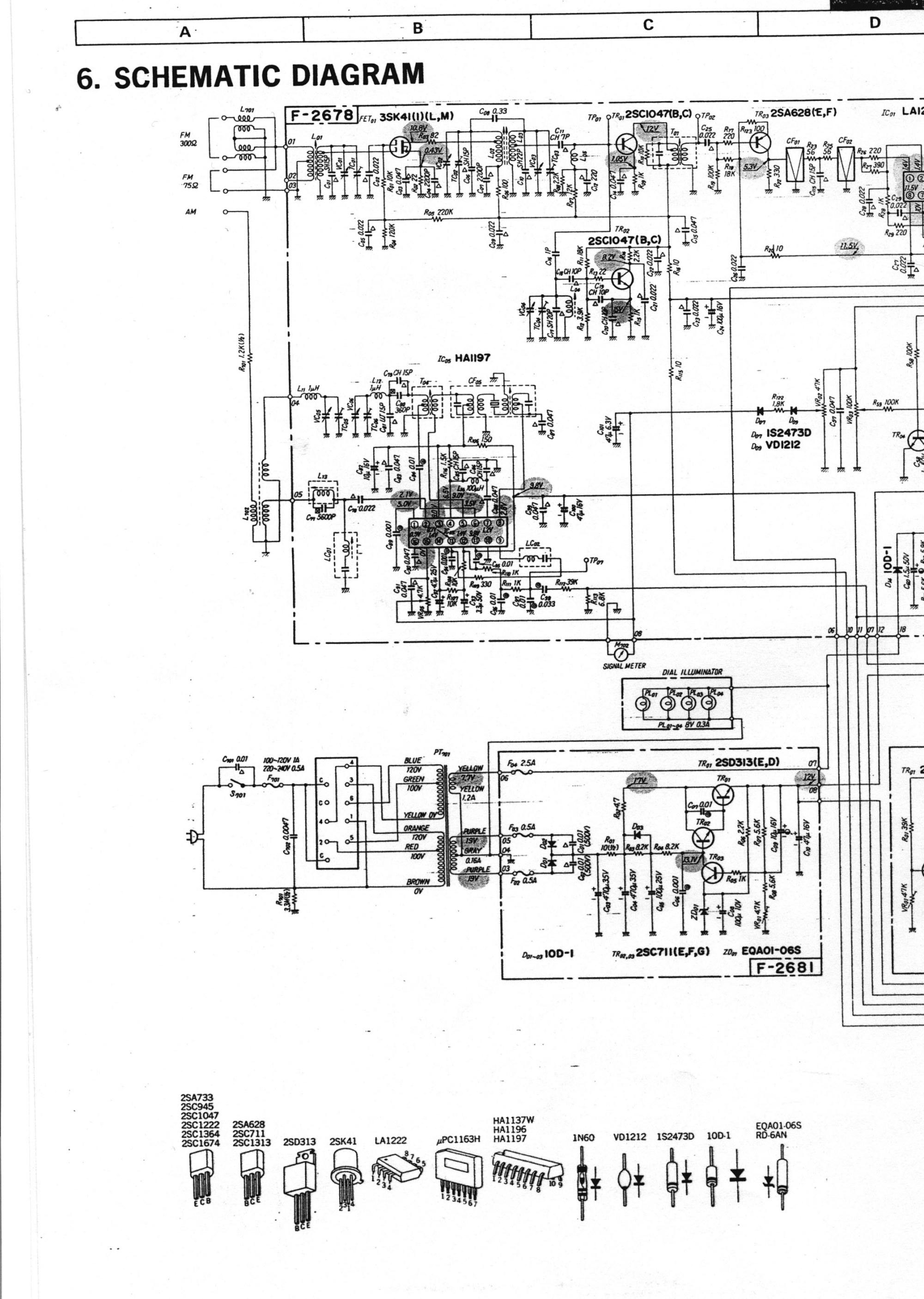 hight resolution of  schematic left