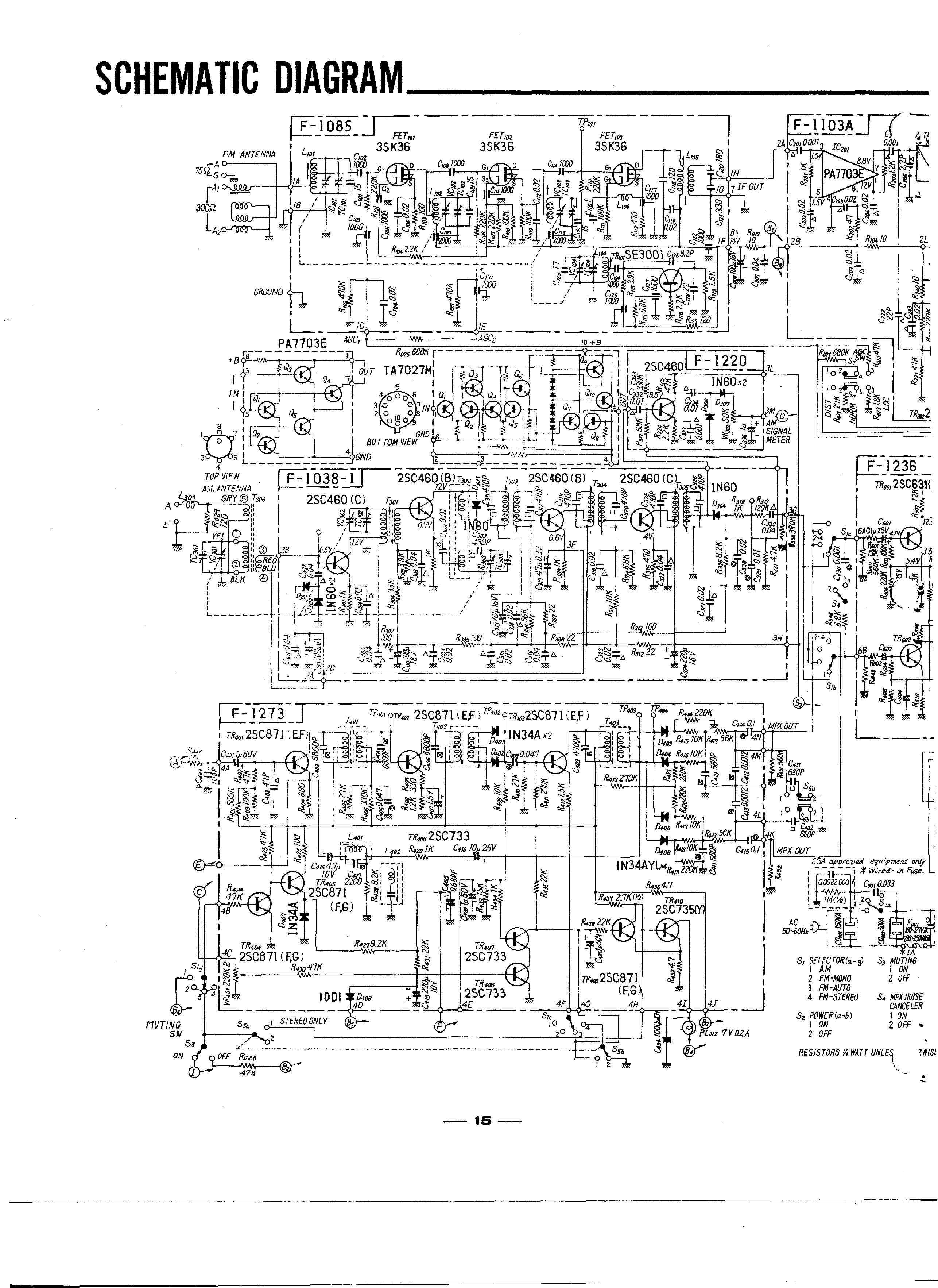 Tuner Circuit Schematics, Tuner, Get Free Image About