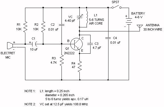 100 W Inverter Circuit Diagram Fai Un Test Del Trasmettitore Fm Wireless Potere Di