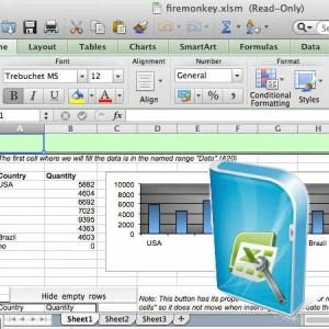 Delphi XE5 Firemonkey Excel Reader Writer