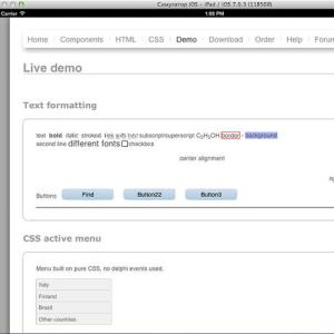 Delphi XE5 Firemonkey HTML Viewer Component