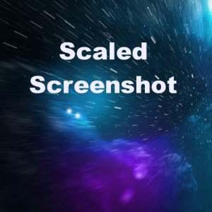 Delphi XE5 Scaled MakeScreenshot