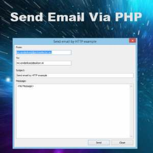 Delphi XE5 Firemonkey Send Email PHP