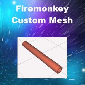 Delphi Firemonkey Custom Mesh Pipe