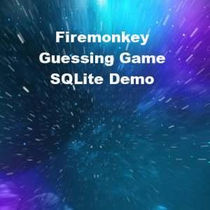 Delphi XE6 Firemonkey Guessing Game Demo Source Code