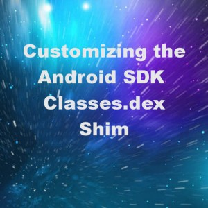 Delphi XE6 Firemonkey Android SDK Classes.dex JAR Shim