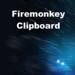Delphi XE6 Firemonkey Clipboard Cross Platform