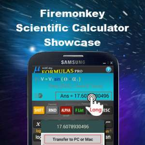 Delphi XE6 Firemonkey Based Scientific Calculator App Showcase