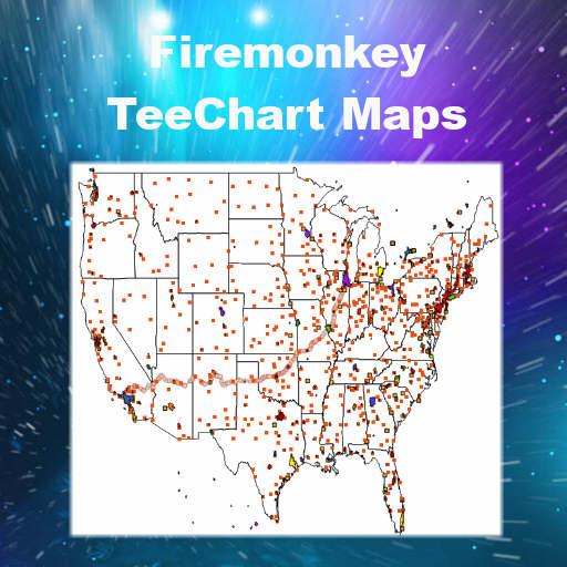 TeeChart Mapping Data Demo Source Code In Delphi XE6