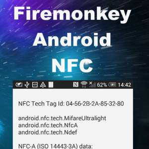 Delphi XE7 Firemonkey Android NFC Bridge