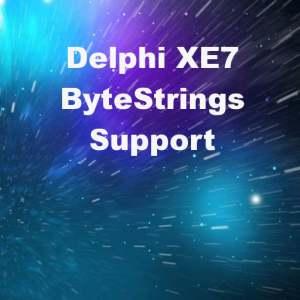 Delphi XE7 Firemonkey AnsiString ByteStrings Support