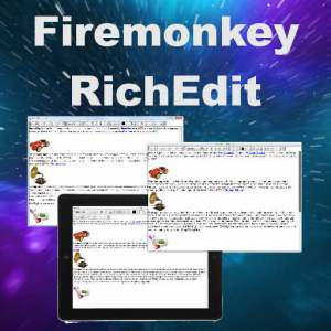 Delphi XE7 Firemonkey Rich Edit Component