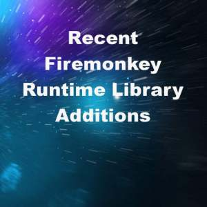 Delphi XE7 Firemonkey Upgraded Run Time Library