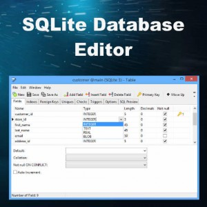 Navicat SQLite Database Editor For Delphi Firemonkey SQLite Database Files