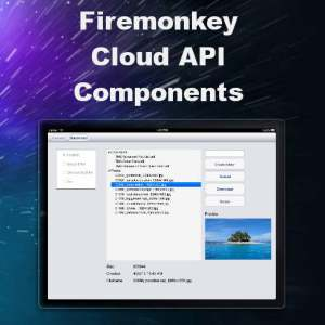 Delphi XE8 Firemonkey Cloud API YouTube Facebook Twitter Dropbox Android IOS