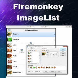 Delphi XE8 Firemonkey Image List Component Android IOS