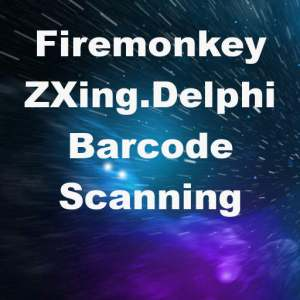 Delphi XE8 Firemonkey ZXing Barcode Scanner Android IOS