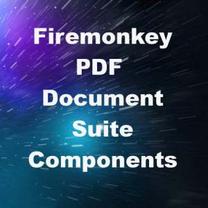 Delphi XE8 Firemonkey PDF Document Create View Android IOS Component