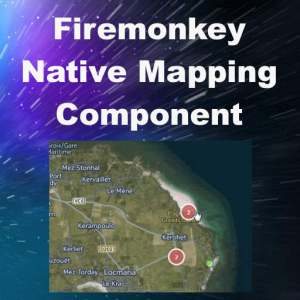 Delphi XE8 Firemonkey Native Offline Map Component Android IOS